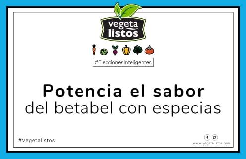 Mar10 18 Potencia el sabor del betabel con especias