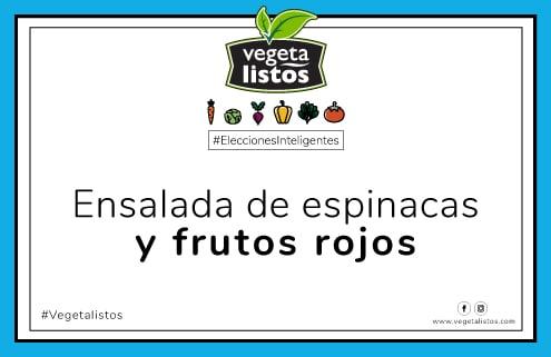 Mar14 18 Ensalada de espinacas y frutos rojos