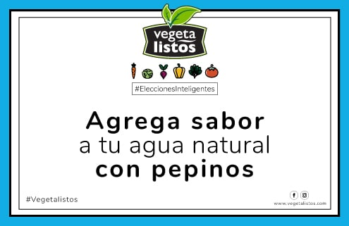 Sep03 17 Agrega sabor a tu agua natural con pepinos