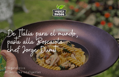 De Italia a tu mesa: pasta a la Boscaiola