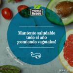 Mantente saludable todo el año ¡comiendo vegetales!